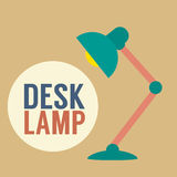 Lampe de bureau de conception moderne Photo stock