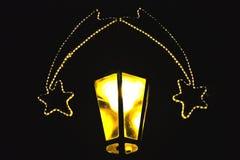 lampe de comètes plus de deux Images stock