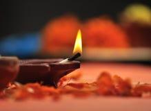 Lampe de Diwali Photographie stock