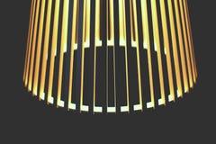 Lampe de fond avec des lignes Photographie stock libre de droits