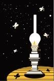 Lampe de kérosène illustration libre de droits