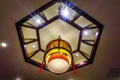 Lampe de Latern de Chinois images stock