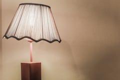 Lampe de lit de style de vintage photos stock