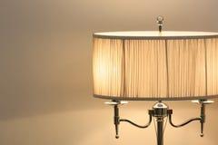 Lampe de lit de style de vintage images libres de droits