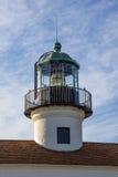 Lampe de Loma Lighthouse de point Images stock