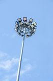 Lampe de lumière de route latérale Photo stock