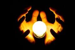 lampe de main Photographie stock