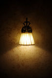 Lampe de mur Photos stock