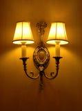 Lampe de mur classique Images libres de droits