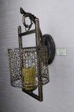 Lampe de mur pour l'intérieur à la maison Image libre de droits