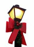 Lampe de Noël photo libre de droits
