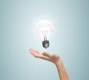 Lampe de pand de main Image stock