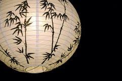 Lampe de papier chinois Photographie stock libre de droits