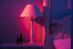 Lampe de pièce d'Art Deco Stylish Image libre de droits