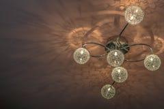 Lampe de plafond Images libres de droits