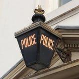 Lampe de police Photos libres de droits