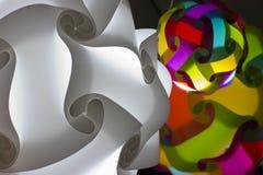Lampe de sphère Photographie stock
