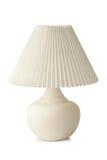 Lampe de table blanche Photos libres de droits