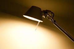 Lampe de table de Lit avec le copyspace procurable images libres de droits