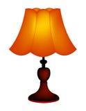 Lampe de Tableau/abat-jour illustration stock