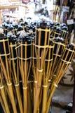 Lampe de torche faite par l'étain d'aluminem Images libres de droits
