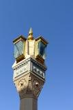 Lampe der Nabawi Moschee Lizenzfreie Stockfotos