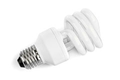 Lampe der niedrigen Energie Lizenzfreie Stockbilder