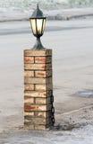 Lampe in der Straße Lizenzfreies Stockbild