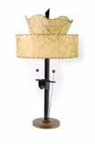 Lampe der Weinlese-50s Stockfotos