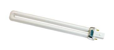 lampe du tube 11W fluorescent Photographie stock