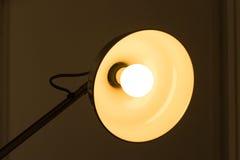 Lampe eingeschaltet Lizenzfreie Stockfotografie