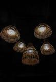 Lampe en bambou Images stock