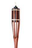 Lampe en bambou de torche image stock