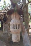 lampe en bois photos libres de droits