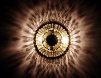 Lampe en cristal Photographie stock