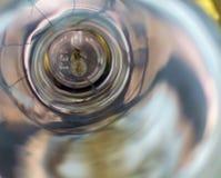 Lampe en verre électrique de fond abstrait d'image Image libre de droits