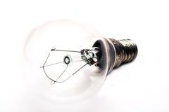 Lampe en verre Photo stock