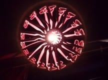 Lampe en verre Image stock