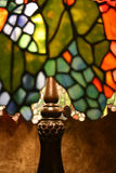 Lampe en verre de souillure Photo libre de droits