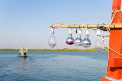 Lampe für Fischerboot Lizenzfreie Stockfotos