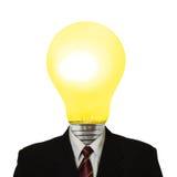 Lampe für Kopf Lizenzfreie Stockbilder
