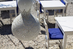 Lampe fabriquée à la main Photos libres de droits