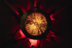 Lampe faite avec les guitares électriques Photos stock