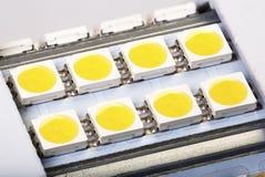 Lampe faite sur commande de LED dans extrêmement de haute résolution photos stock
