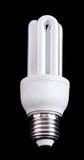 Lampe fluorescente compacte économiseuse d'énergie Photos libres de droits