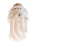 Lampe fluorescente d'économie Image stock