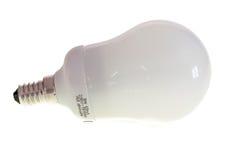 Lampe fluorescente d'économie Images stock