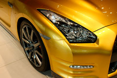 Lampe GTR de tête de voiture de sport Photos libres de droits
