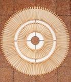 Lampe hergestellt vom Bambus Lizenzfreie Stockfotografie