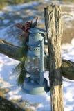 Lampe II de Noël Photographie stock